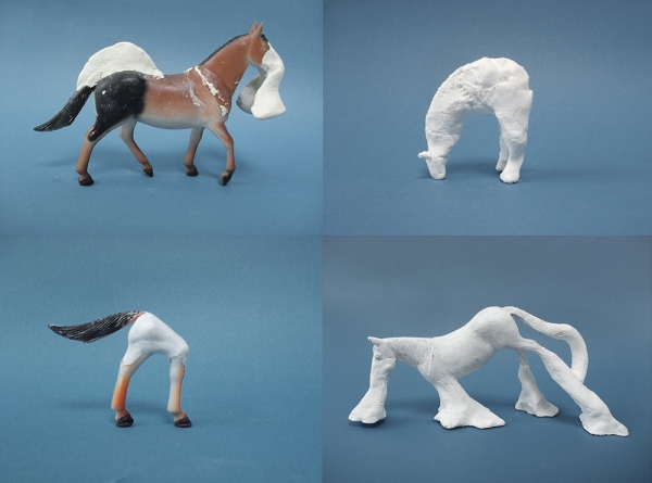 Main functions of a toy horse (2011/2012) Mixed media